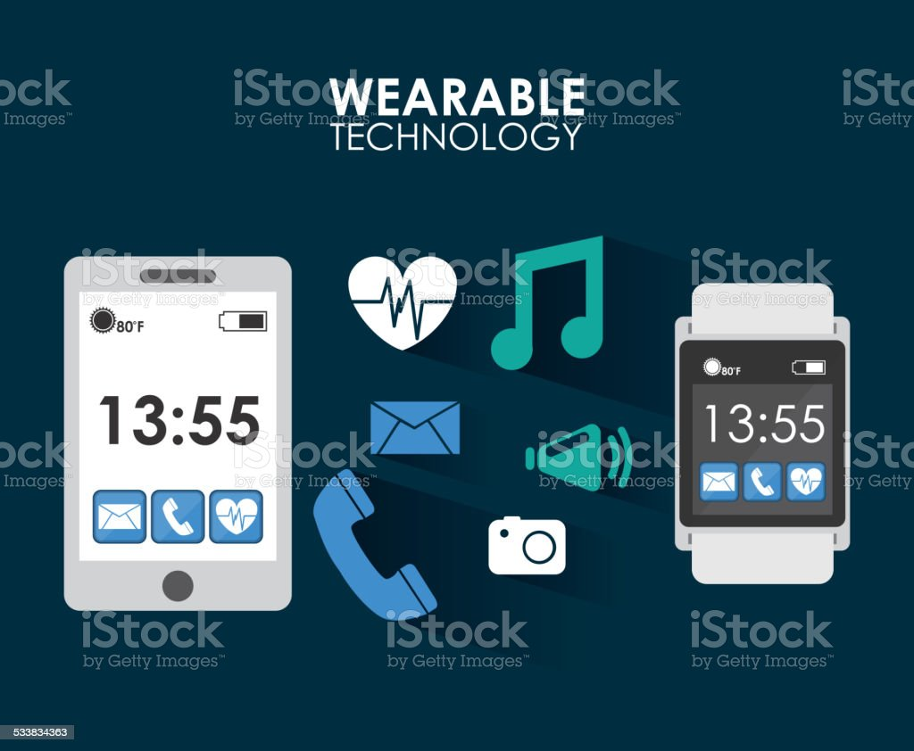 Wearable Technology Stock Vector Art More Images Of 2015 Istock