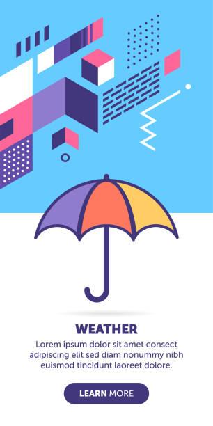 wetter-banner - klimaschutz stock-grafiken, -clipart, -cartoons und -symbole