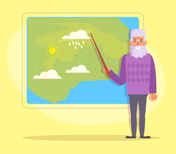 Best Weatherman Illustrations, Royalty-Free Vector ...