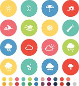 Vector File of Weather Icon