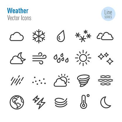 Weather Icon - Vector Line Series