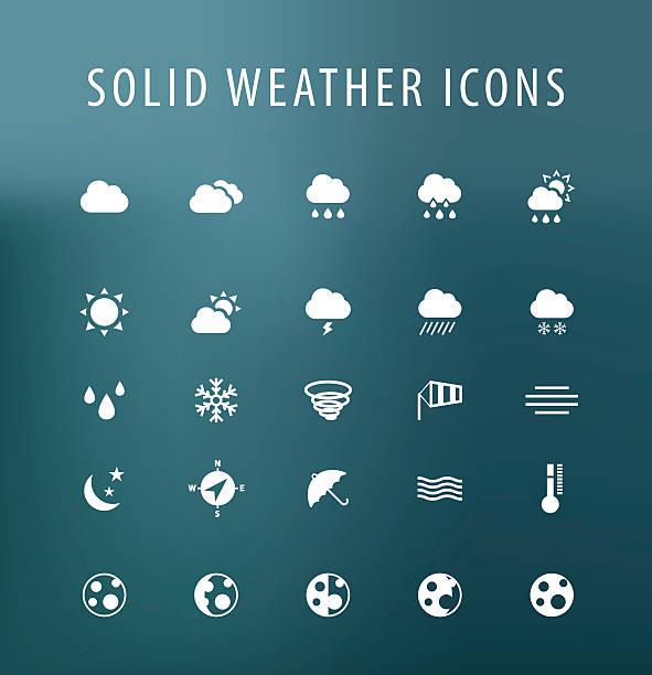wetter-icons. - schneeflocke sonnenaufgang stock-grafiken, -clipart, -cartoons und -symbole