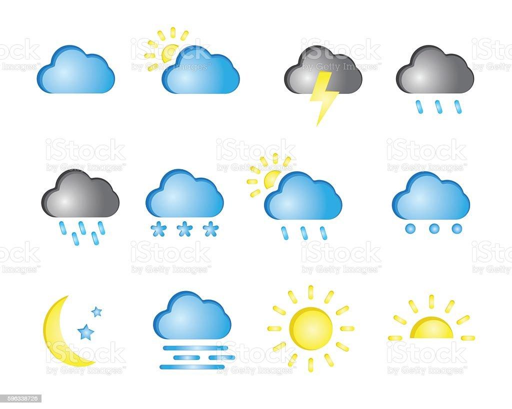 weather illustration Lizenzfreies weather illustration stock vektor art und mehr bilder von bedeckter himmel