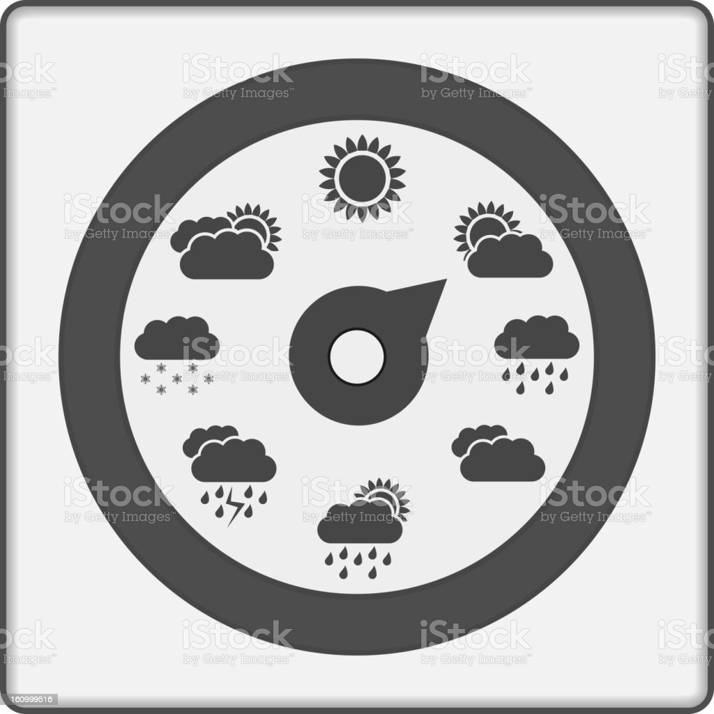 Weather Indicator royalty-free stock vector art