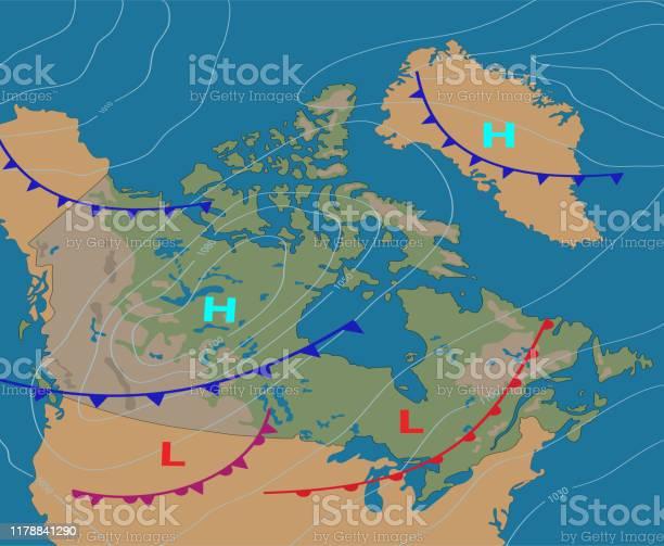 Weather Map Vector Art & Graphics | freevector com