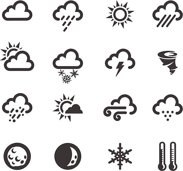 Weather Symbols http://www.cumulocreative.com/istock/File Types.jpg storm stock illustrations