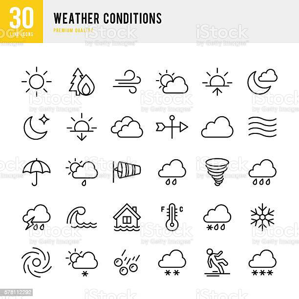 Weather thin line icon set vector id578112292?b=1&k=6&m=578112292&s=612x612&h=t7rskcu5 7nrs4dvvty7zkye6yiwp vy69vh3mjyiou=