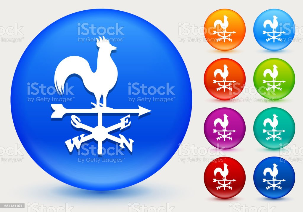 Windwijzer pictogram op glanzende kleur Circle knoppen royalty free windwijzer pictogram op glanzende kleur circle knoppen stockvectorkunst en meer beelden van bordeauxrood