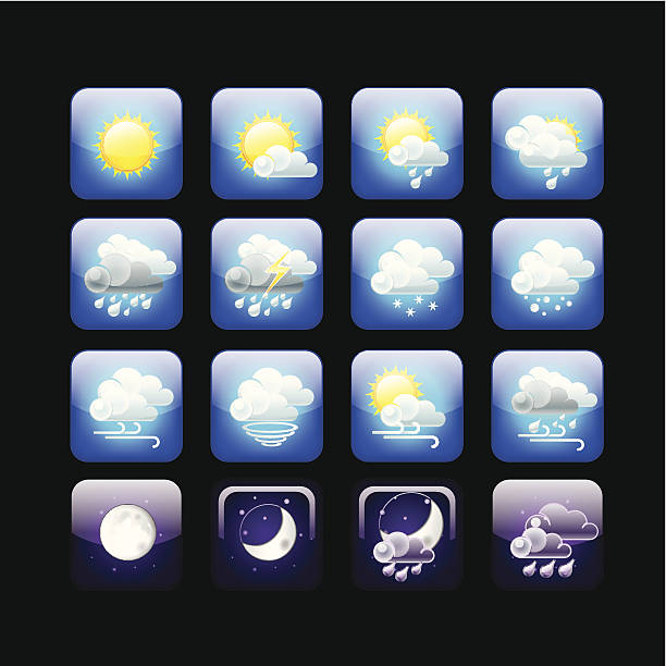 Weather This Icon was created in adobe illustrator forked lightning stock illustrations