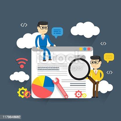 Web analytics design, SEO optimization