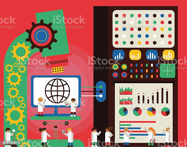Web Analytics Stock Illustration - Download Image Now