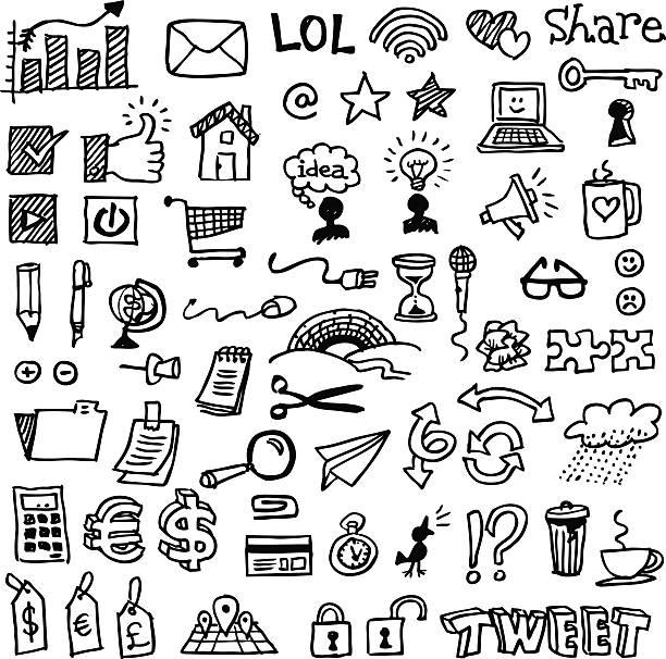 illustrations, cliparts, dessins animés et icônes de web et crayonnages d'affaires - divertissement plaisir