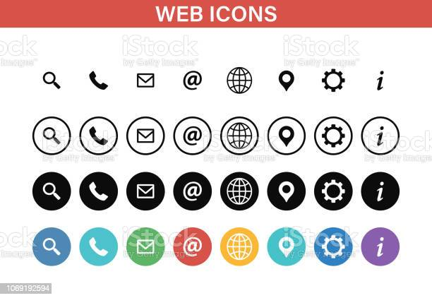 Web and contact icons set vector illustration vector id1069192594?b=1&k=6&m=1069192594&s=612x612&h=oqbpw6vrdgwksoev5kwp61dopxfn3voor8uwlyjgbhy=