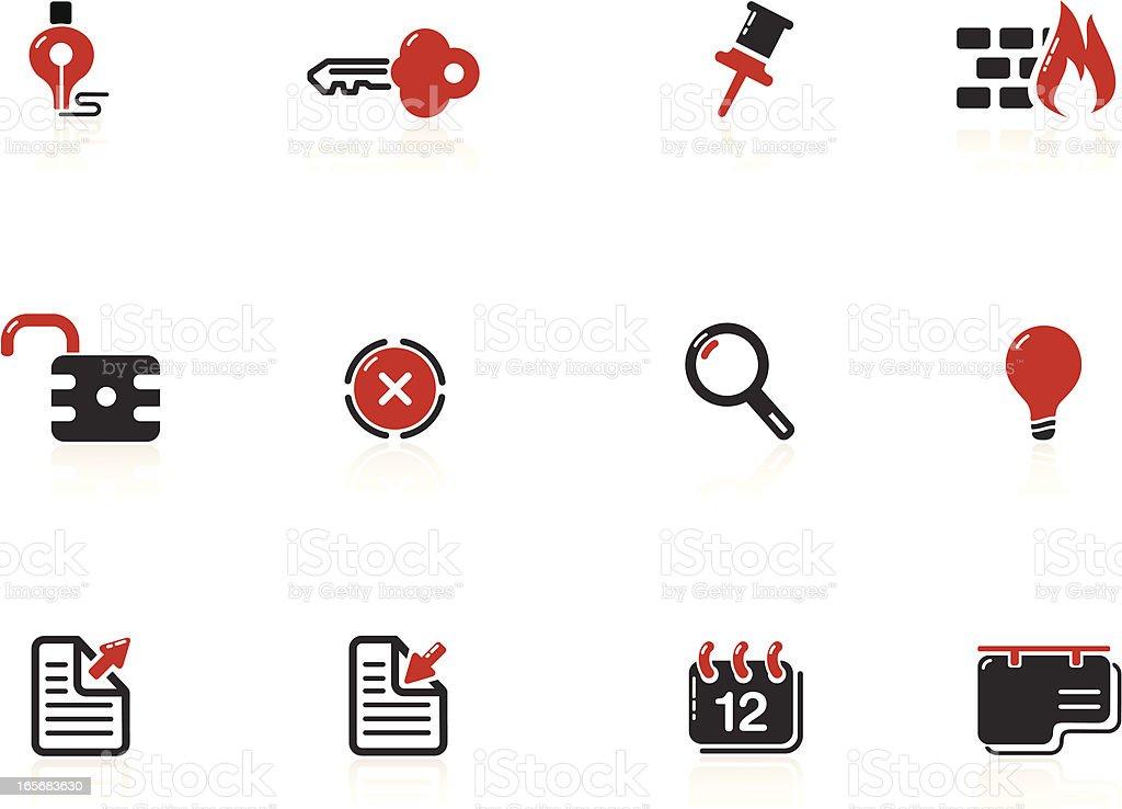 Web and Internet Icons | Nero Series vector art illustration