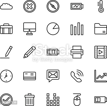 A collection of Web Mobile Ui Vector Icons that you can easily integrate in your design and the cool thing is, that there are so many of them, you will definitely find something you need in here.