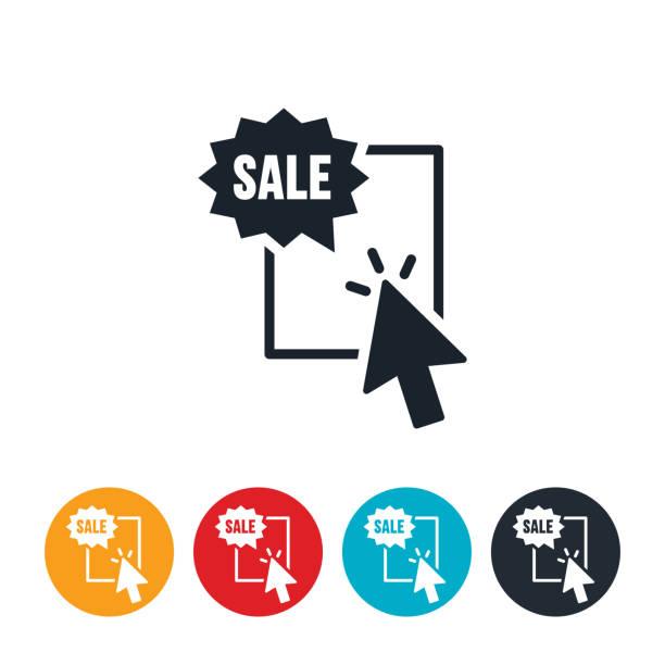Web Banner Advertisement Icon vector art illustration