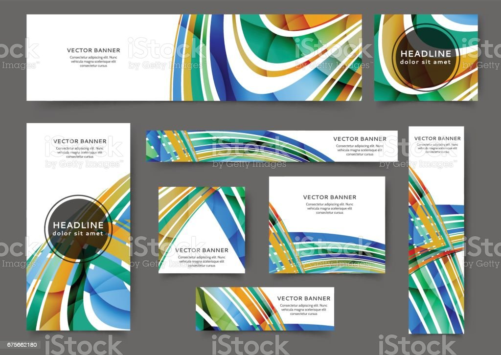 web banner waves royalty-free web banner waves stock vector art & more images of abstract