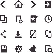 Web Browser Icons On Mobile Devices - Acme Series
