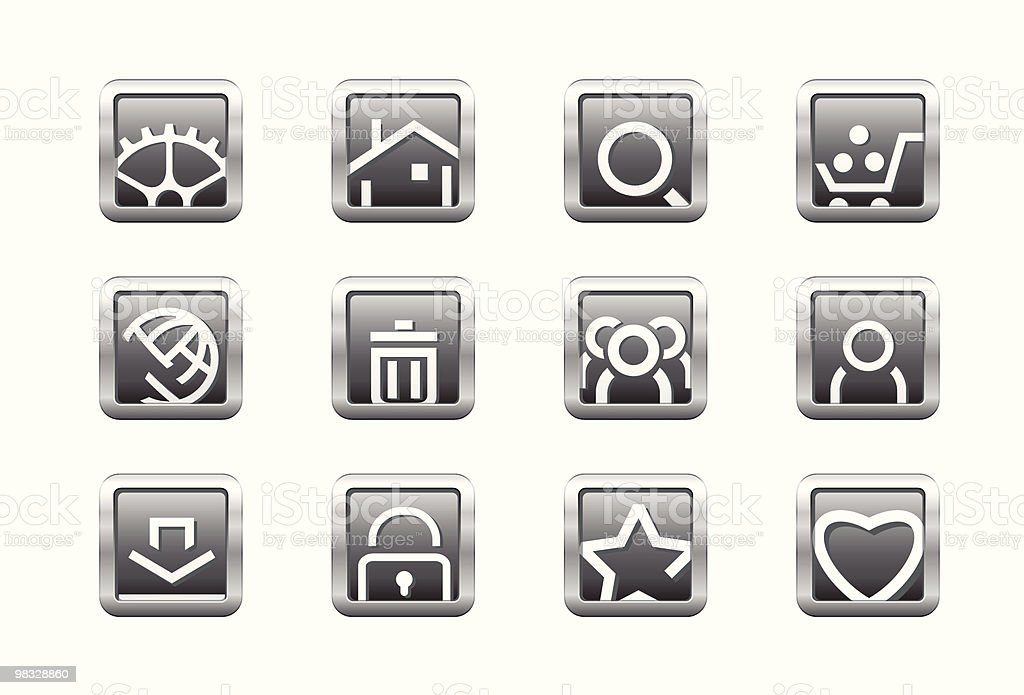 Web buttons royalty-free web buttons stock vector art & more images of bookmark