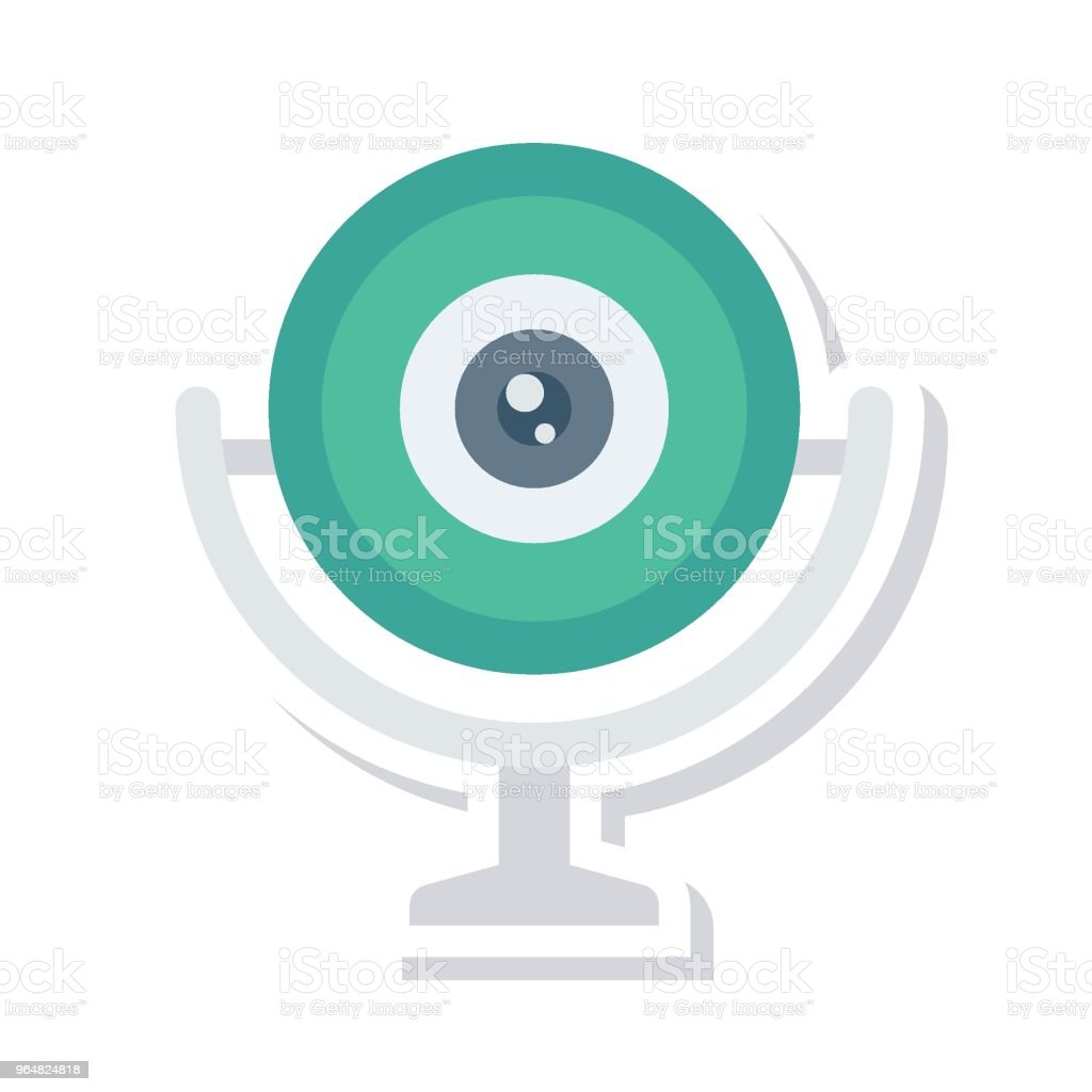 web cam royalty-free web cam stock illustration - download image now
