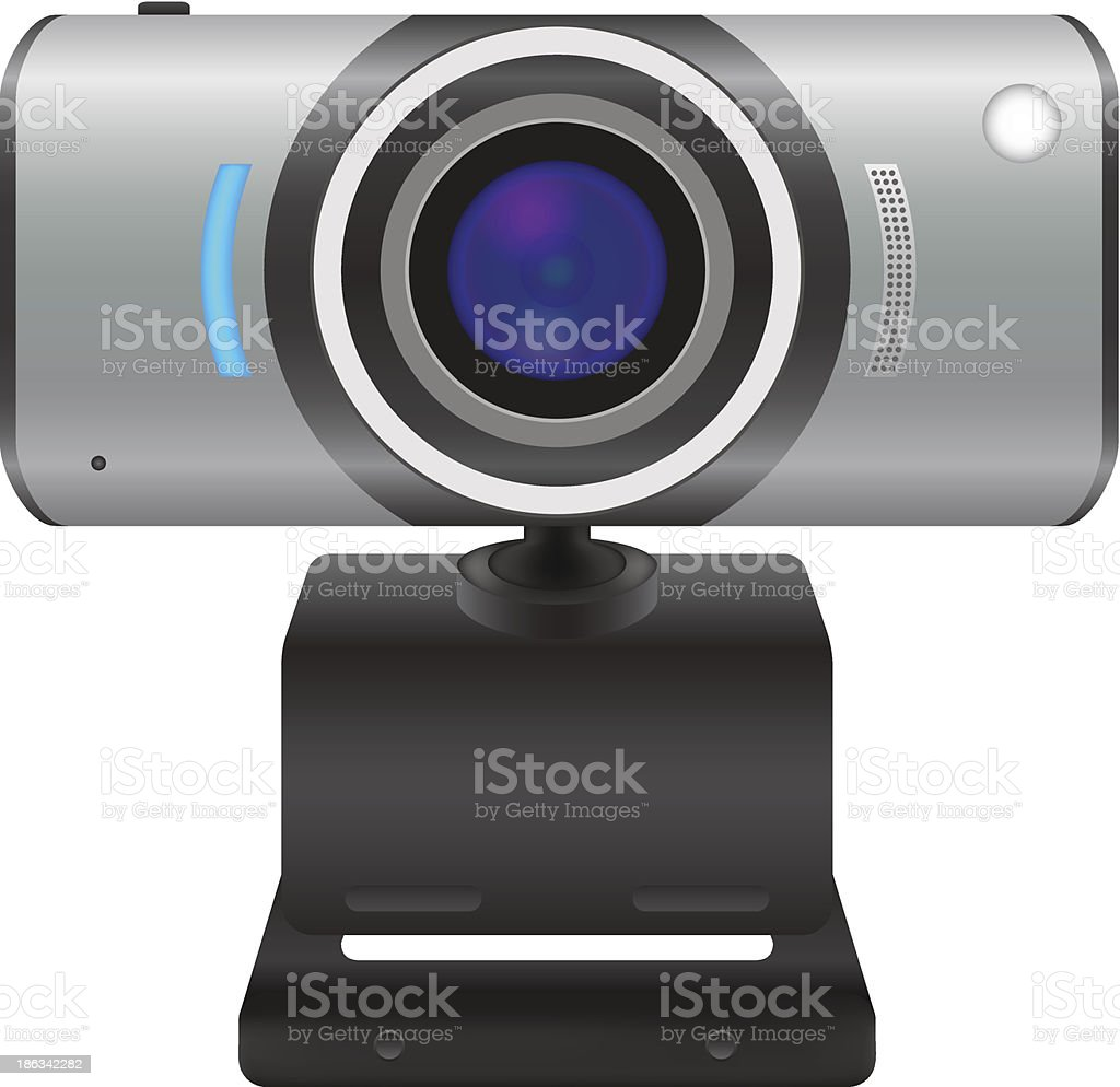 Web cam vector illustration royalty-free stock vector art