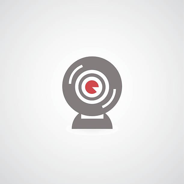 ilustraciones, imágenes clip art, dibujos animados e iconos de stock de web símbolo de cámara - zoom meeting