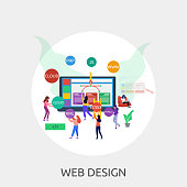 Great flat illustration concept icon and use for technology, business, people and much more.