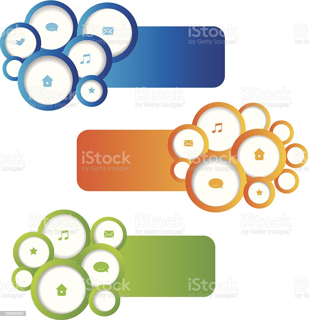 Web design elements. Set. royalty-free web design elements set stock vector art & more images of abstract