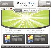 Web design elemets set. eps 10. Vector illustration