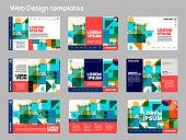 Web design set.