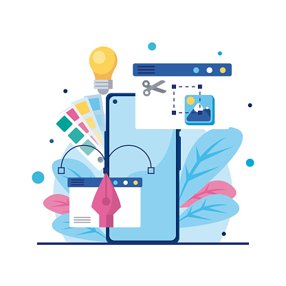 web design smartphone