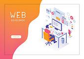 istock Web developer 1027111638