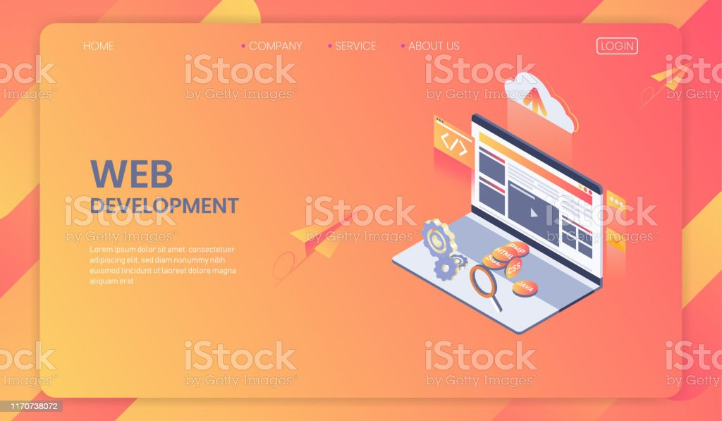 Web Development Isometric Concept Seo Analysis System And Modern Web Design Program And App Development Vector Stock Illustration Download Image Now Istock