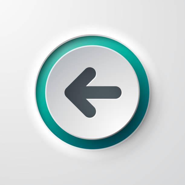 web 圖示按鈕向後箭頭 - 按鈕 幅插畫檔、美工圖案、卡通及圖標