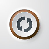 web icon push-button reload refresh