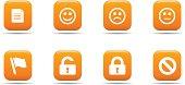 Web icon set 1   Apricot series