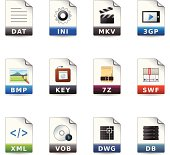 Web Icons - File Formats 10