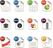 Web Icons - File Formats 4