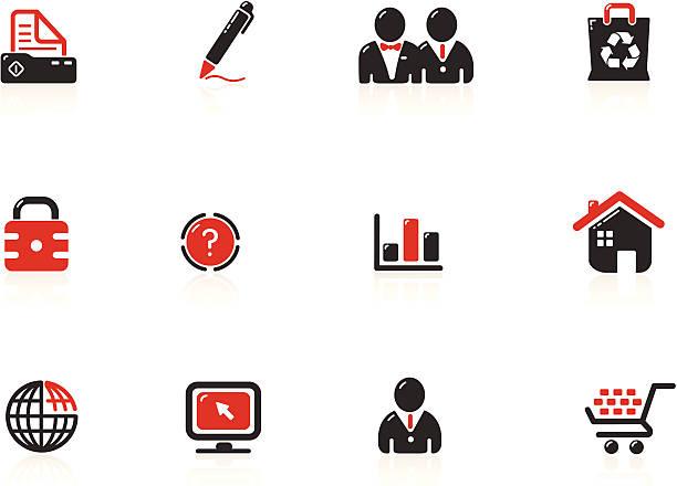 Web Icons | Nero Series vector art illustration