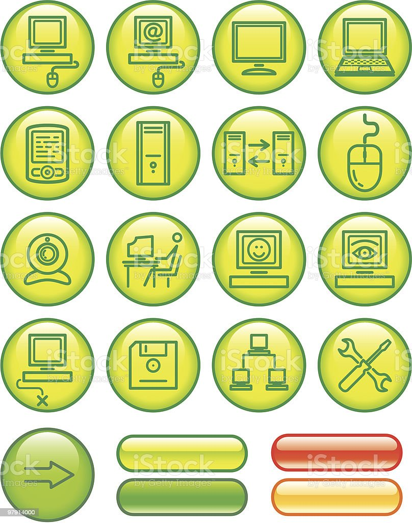 Web Icons Set – Hardware royalty-free web icons set hardware stock vector art & more images of adult