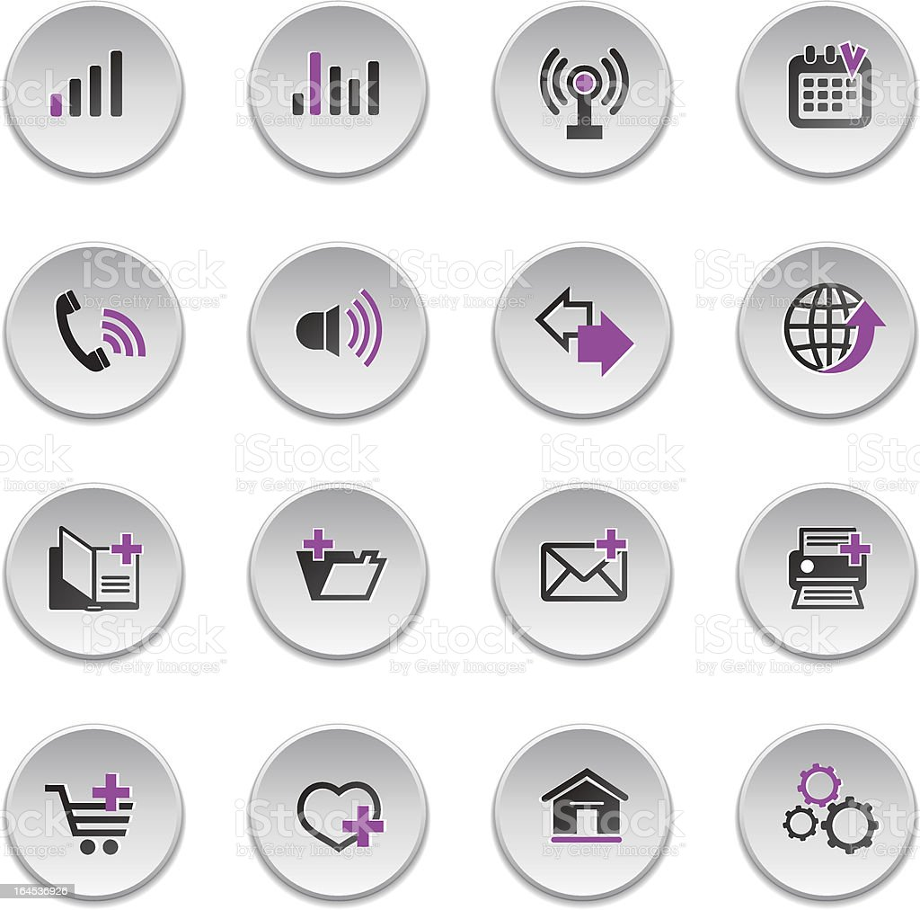 Web icons royalty-free web icons stock vector art & more images of billboard