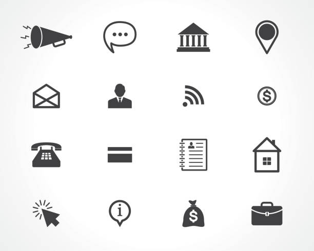 web icons web icons commercial event stock illustrations