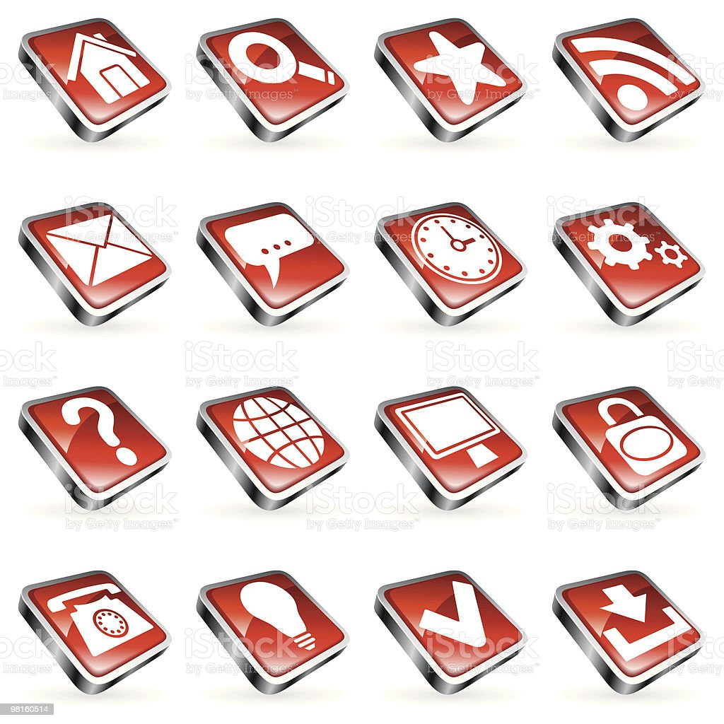 Web icons. royalty-free web icons stock vector art & more images of arrow symbol