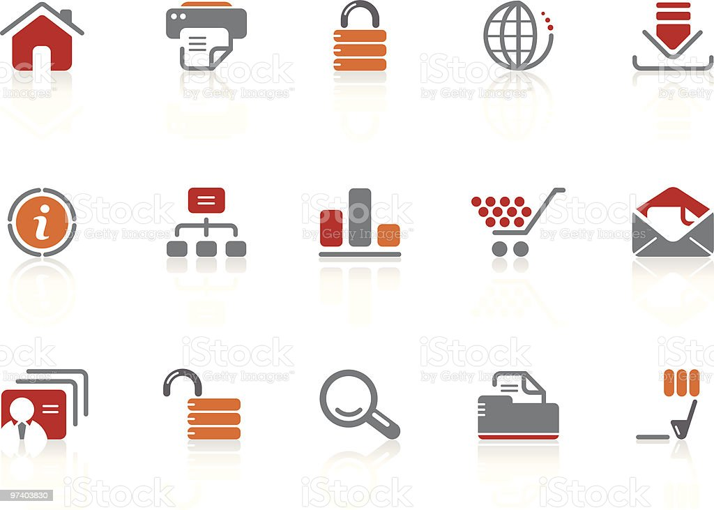 Web & Internet icons | Alto series royalty-free web internet icons alto series stock vector art & more images of bar graph