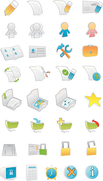 Royalty free ids center clip art vector images illustrations istock 3d web internet icons vector art illustration voltagebd Image collections