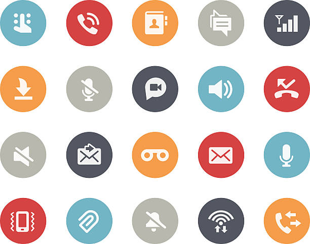 Web & Mobile Icons 1 // Classics Vector icons for your web or mobile projects. zoom stock illustrations