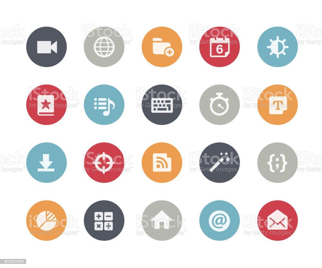 Web & Mobile Icons 4 // Classics vector art illustration
