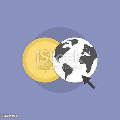 813402032istockphoto Web money flat icon illustration 944051992