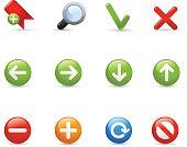 Web Navigation - Gel Icon Series