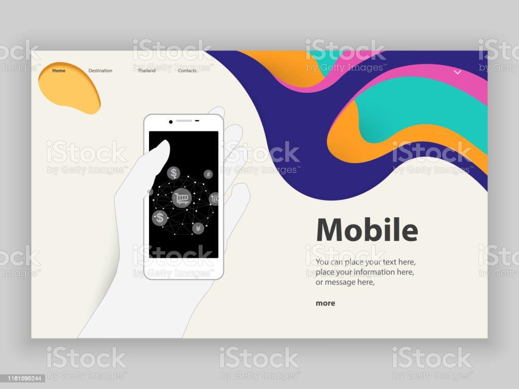 Thailand, Mobile App, Mobile Phone, Smart Phone, Design, Template...